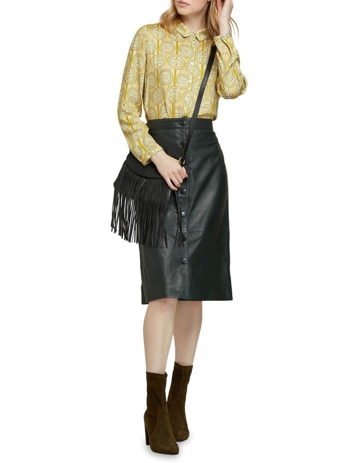 Gigi Leather Skirt image 5