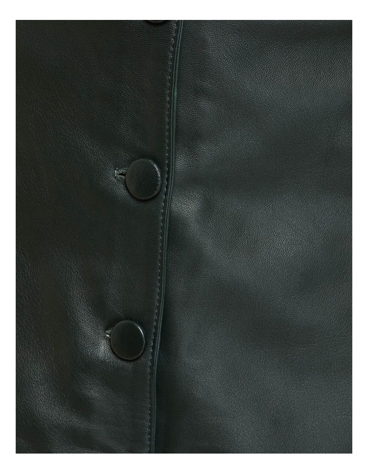 Gigi Leather Skirt image 6
