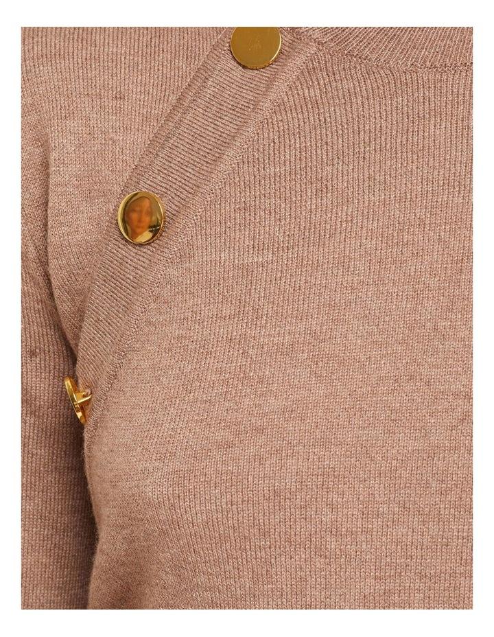 Evie Button Detail Knit image 6