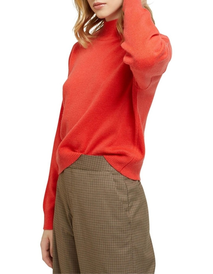 Lucy Funnel Neck Knit image 2