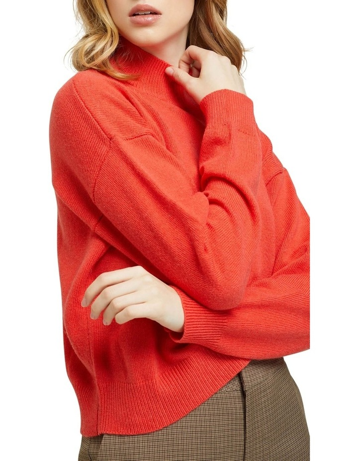 Lucy Funnel Neck Knit image 4