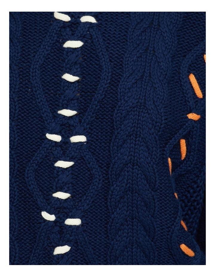 Tia Hand Stitching Detail Knit image 6