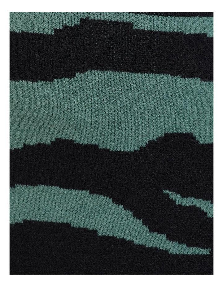 Katie Knitted Animal Print Skirt image 6
