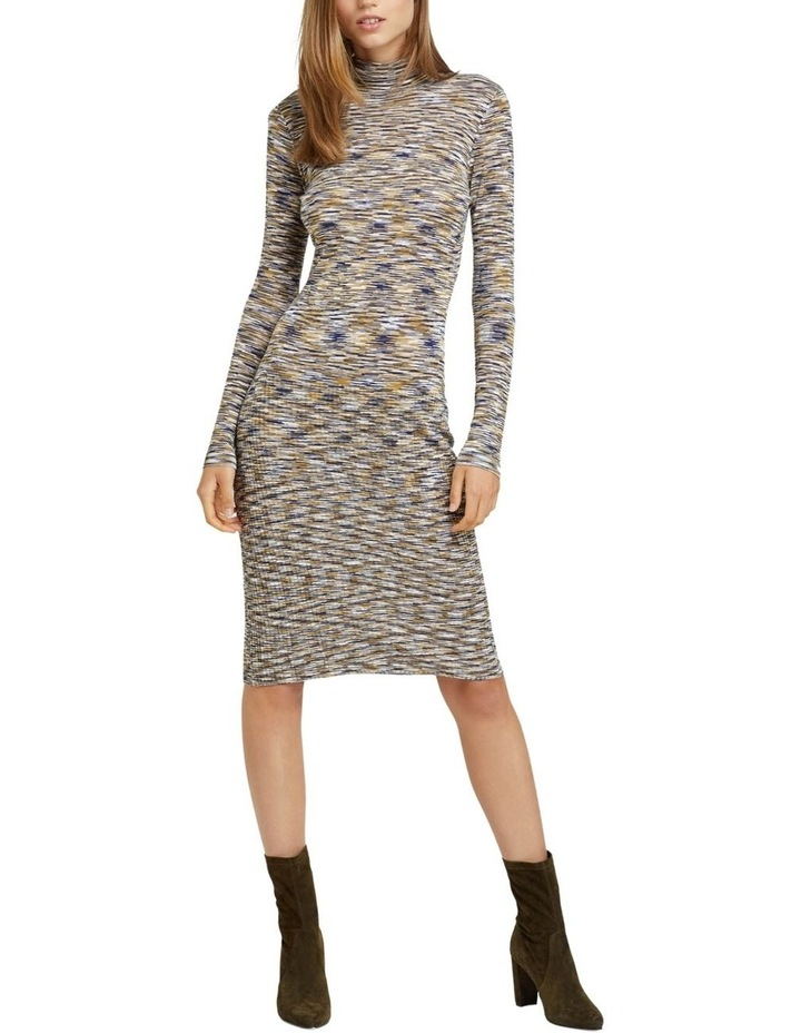Penny Knitted Turtle Neck Dress image 1