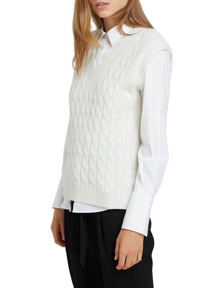 Imogen Cable Knit Vest image 2
