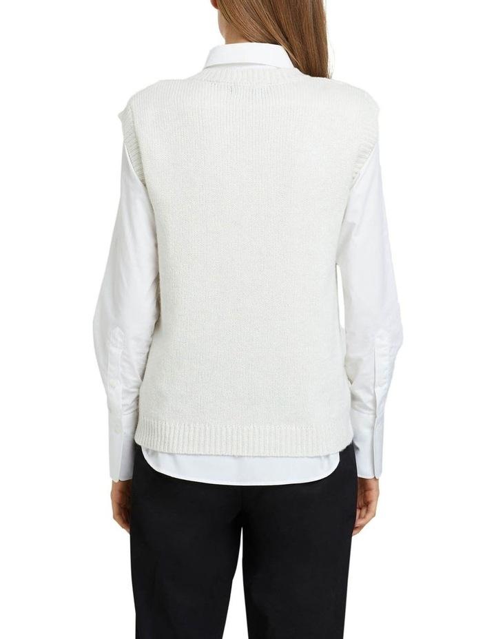 Imogen Cable Knit Vest image 3