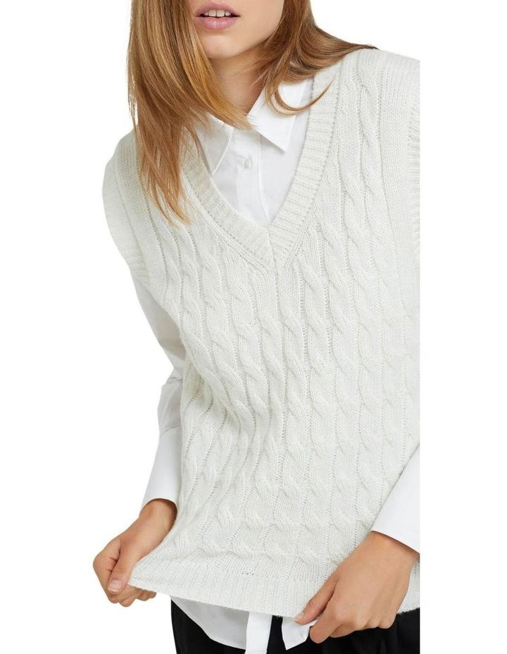 Imogen Cable Knit Vest image 4