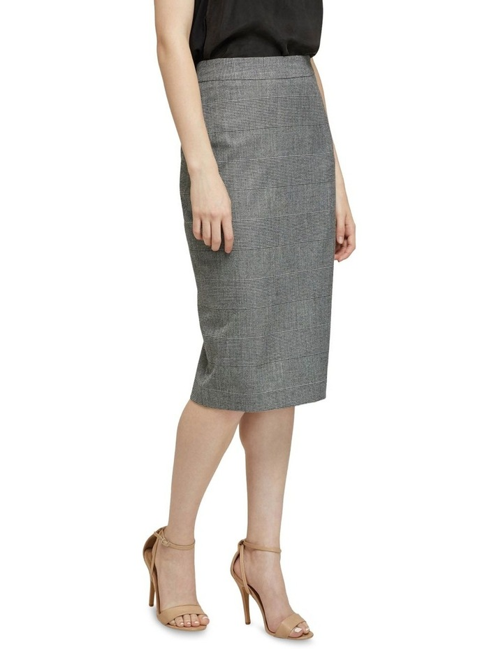 Peggy Eco Checked Suit Skirt image 2