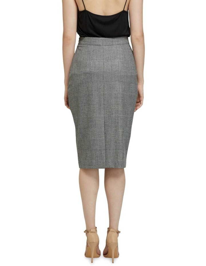 Peggy Eco Checked Suit Skirt image 3