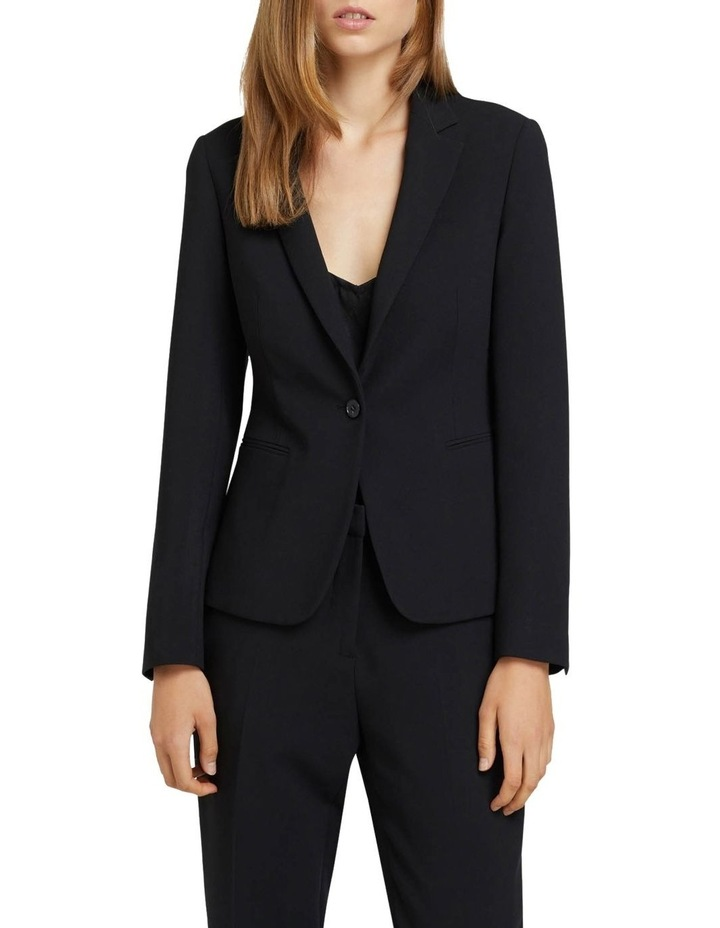 Chica Eco Black Suit Jacket image 1