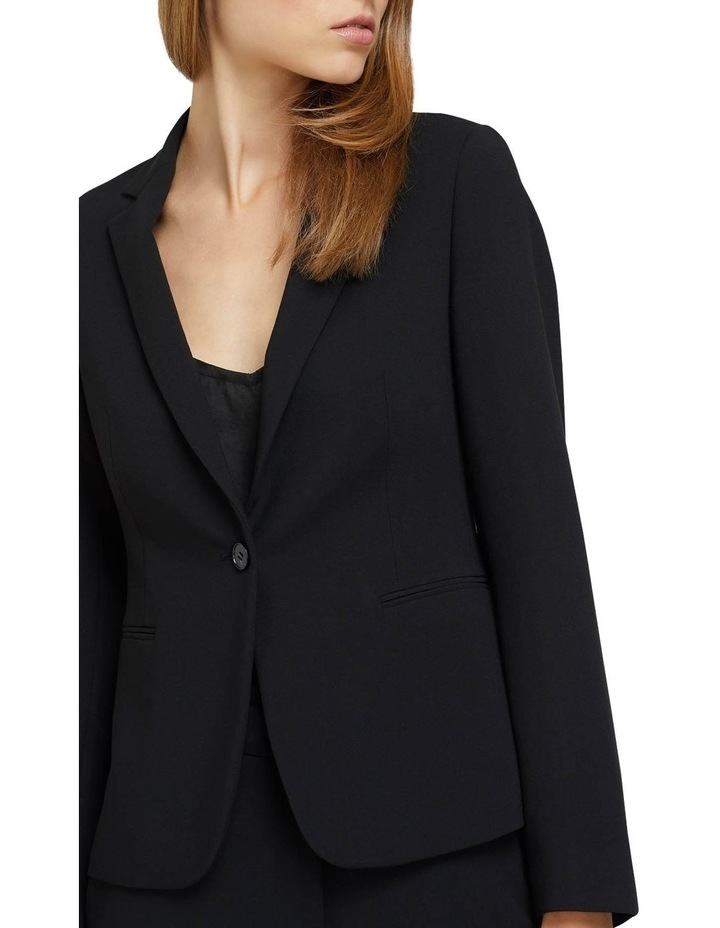 Chica Eco Black Suit Jacket image 4