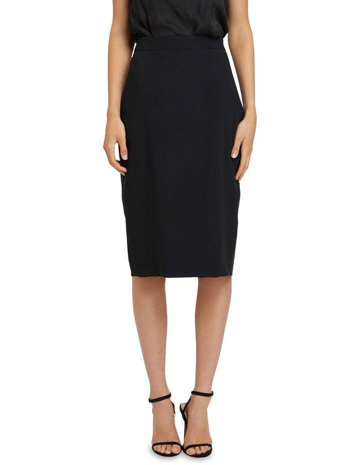Peggy Eco Black Suit Skirt image 1