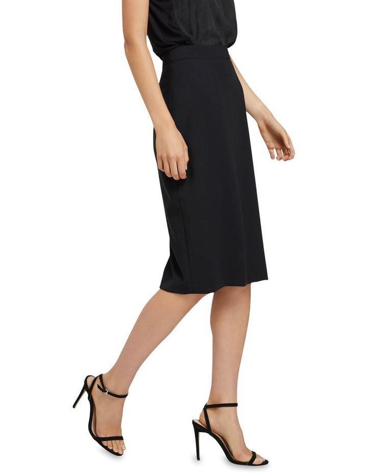 Peggy Eco Black Suit Skirt image 2