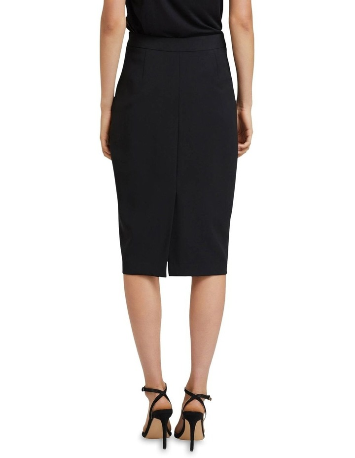 Peggy Eco Black Suit Skirt image 3