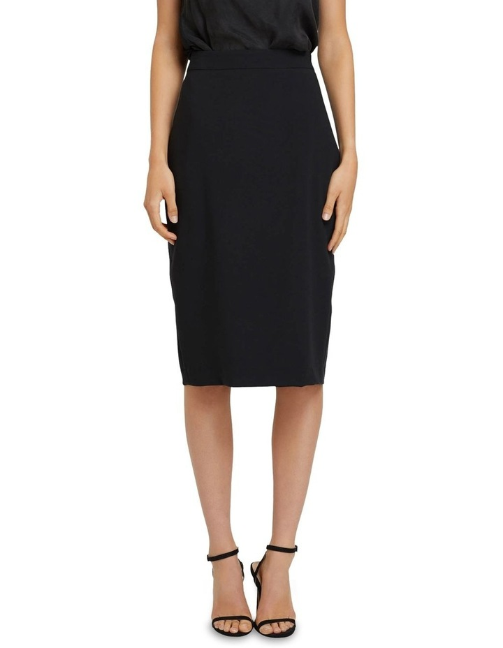Peggy Eco Black Suit Skirt image 4