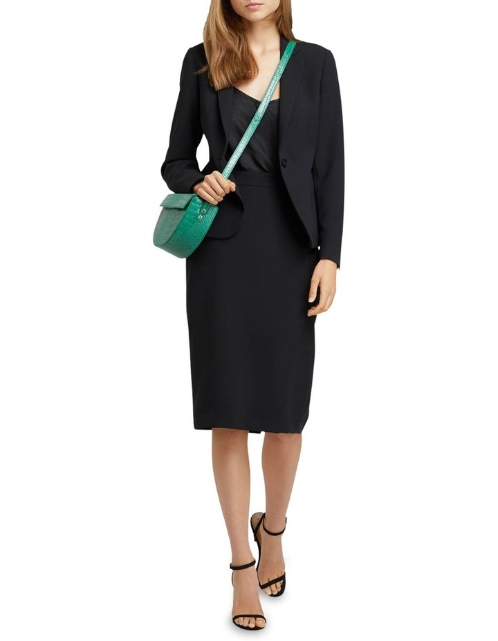 Peggy Eco Black Suit Skirt image 5