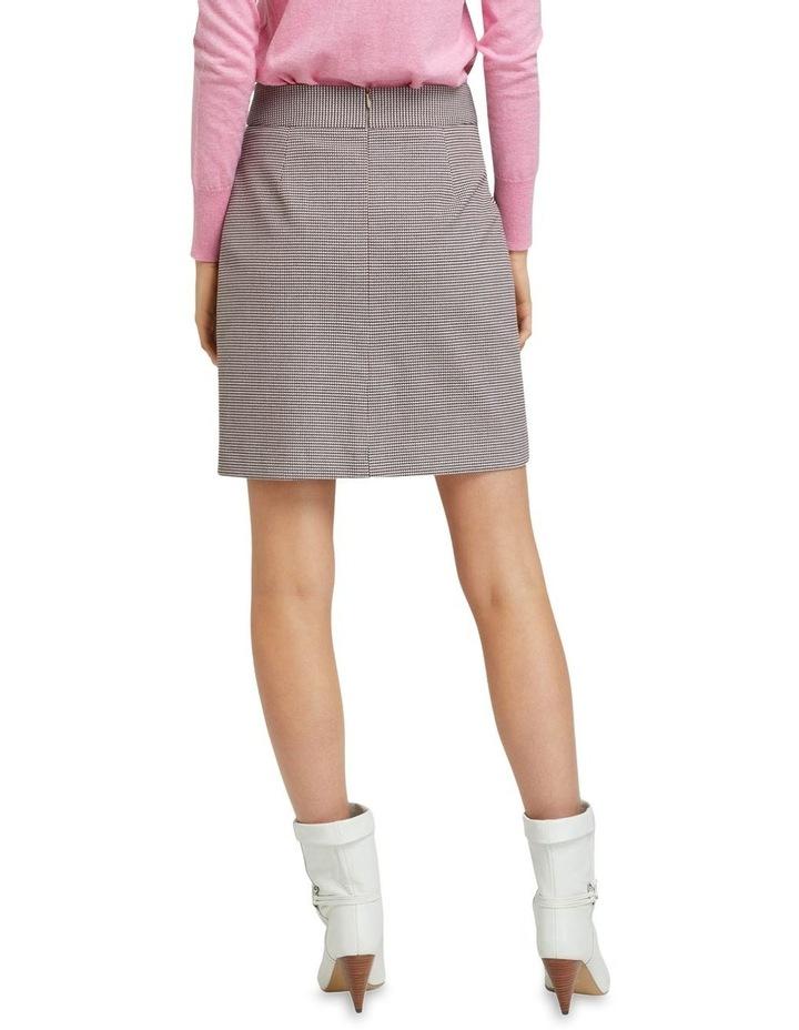 Alina Check Crop Skirt image 3