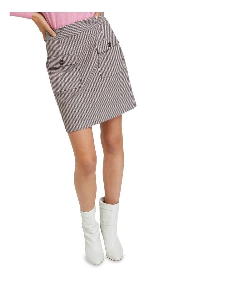 Alina Check Crop Skirt image 4