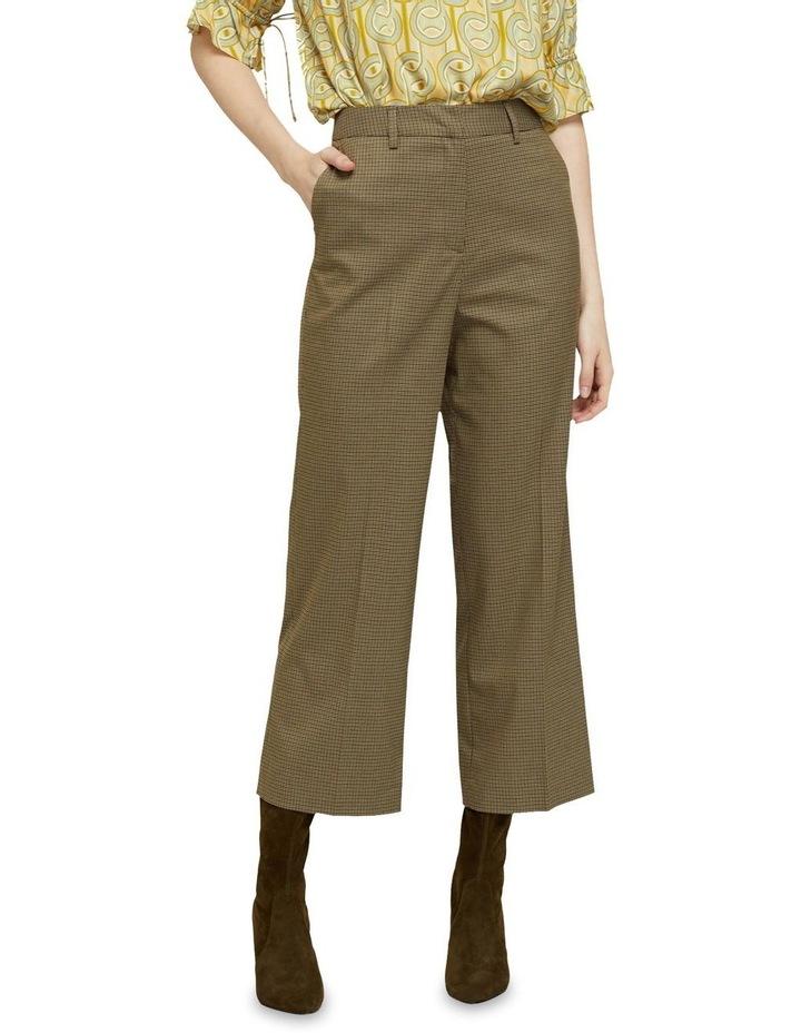 Helena Eco Crop Check Pants image 1