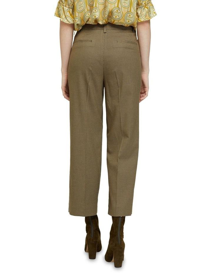 Helena Eco Crop Check Pants image 3