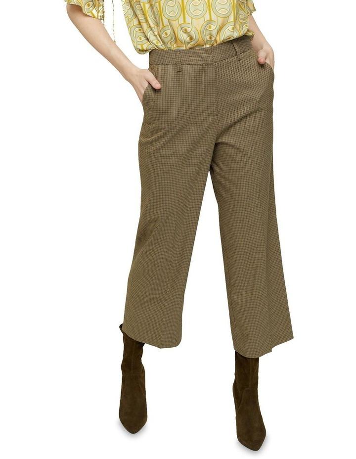 Helena Eco Crop Check Pants image 4