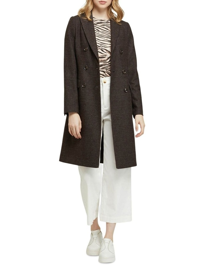Bexley Checked Wool Blend Coat image 1