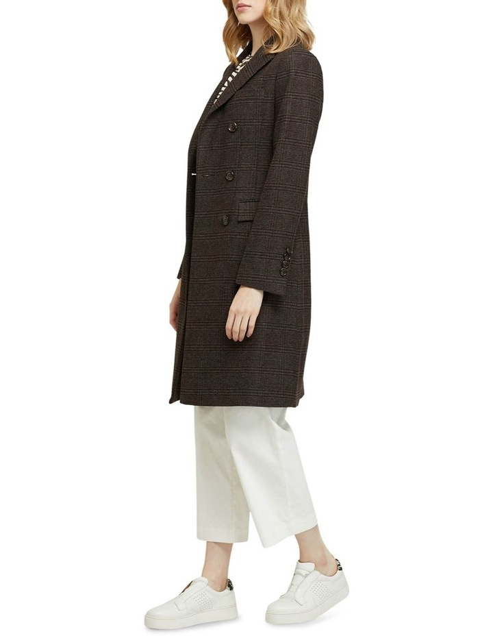 Bexley Checked Wool Blend Coat image 2