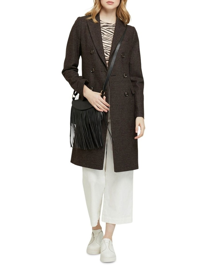 Bexley Checked Wool Blend Coat image 5