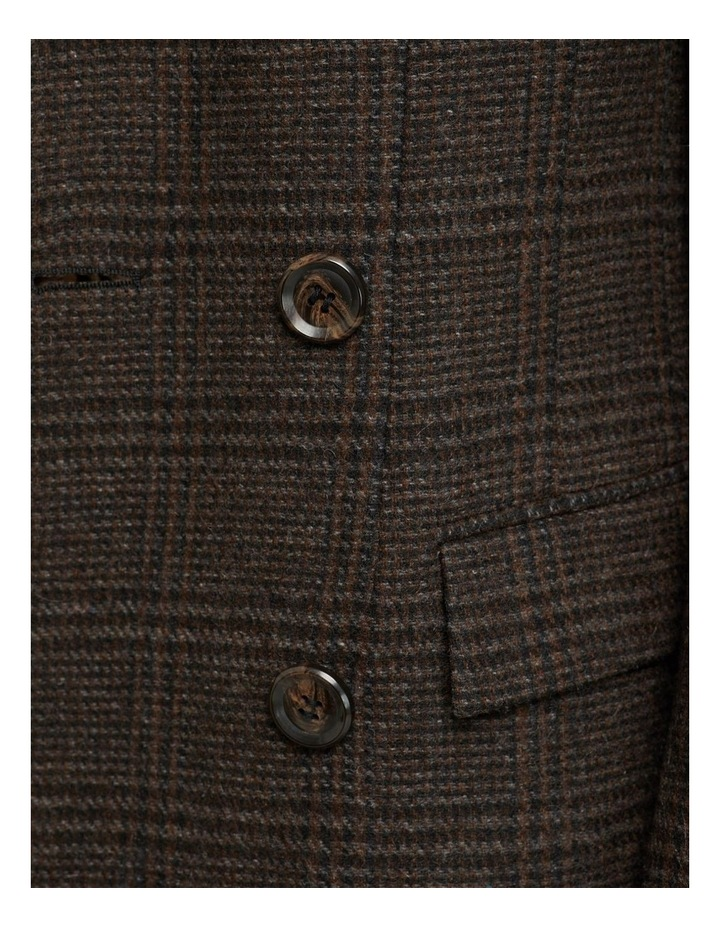 Bexley Checked Wool Blend Coat image 6
