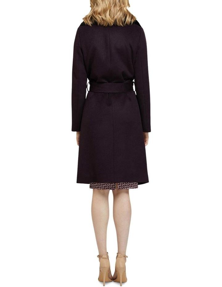 Fallon Detachable Fur Collar Coat image 3