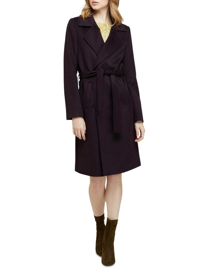 Fallon Detachable Fur Collar Coat image 7