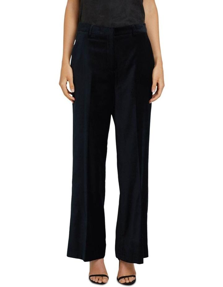 Lauren Black Velvet Trousers image 1