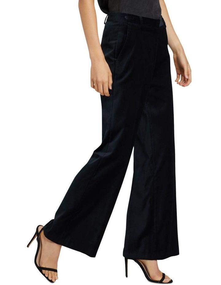 Lauren Black Velvet Trousers image 2