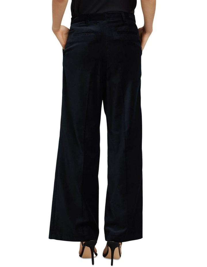 Lauren Black Velvet Trousers image 3