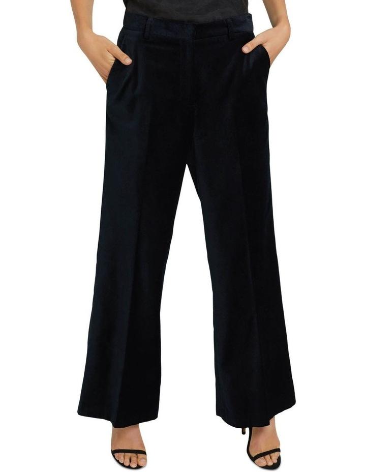 Lauren Black Velvet Trousers image 4