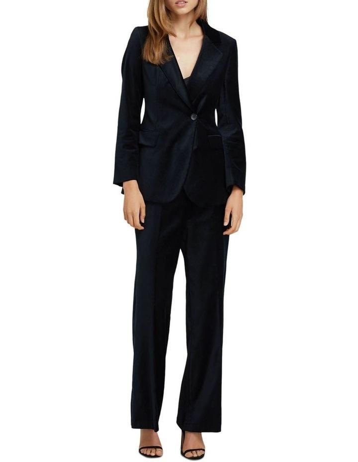 Lauren Black Velvet Trousers image 5