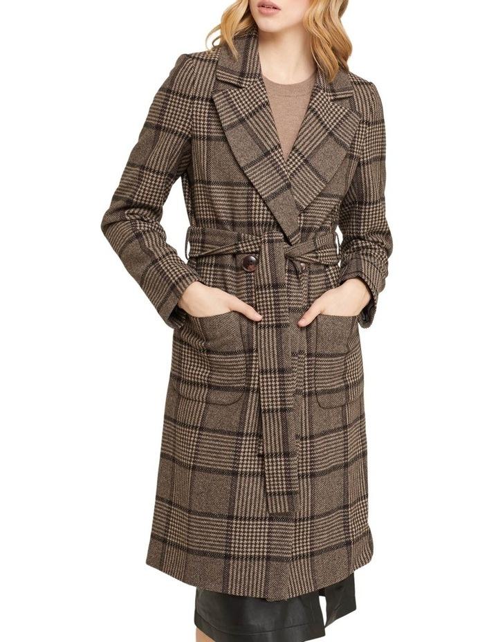Farah Check Overcoat image 1
