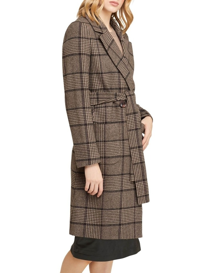 Farah Check Overcoat image 2