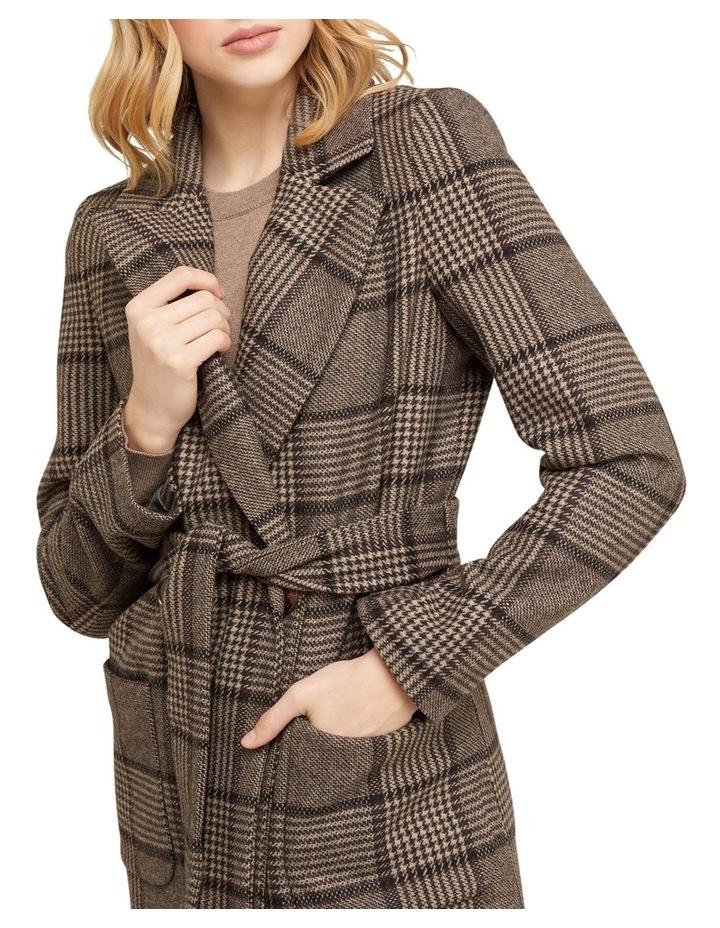 Farah Check Overcoat image 4