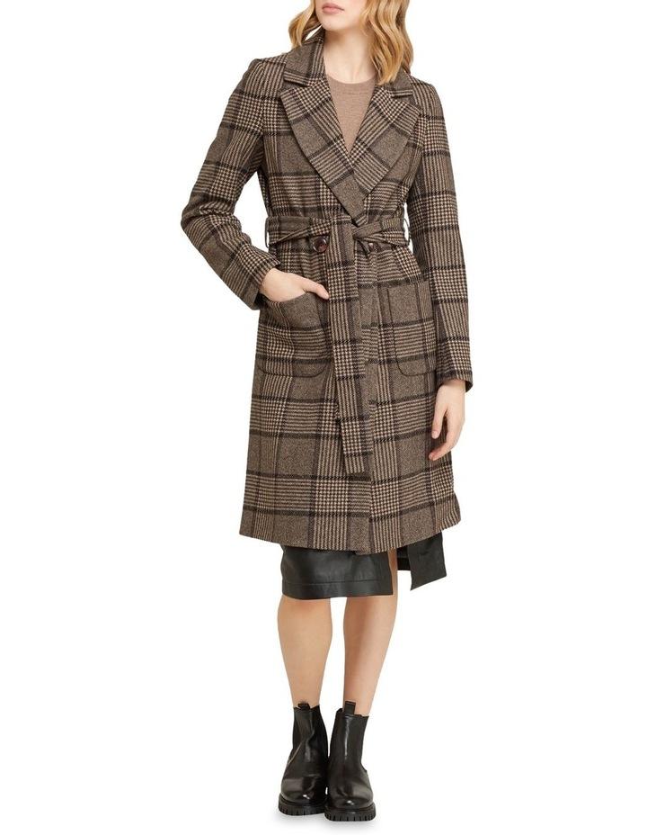 Farah Check Overcoat image 5