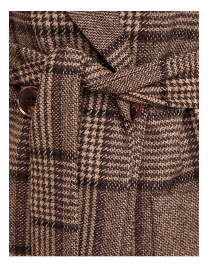 Farah Check Overcoat image 6