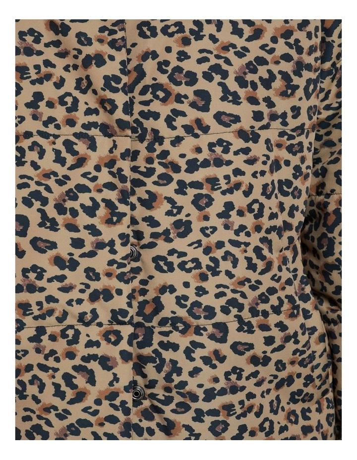 Kitty Animal Prt Longline Puffa Jkt image 6