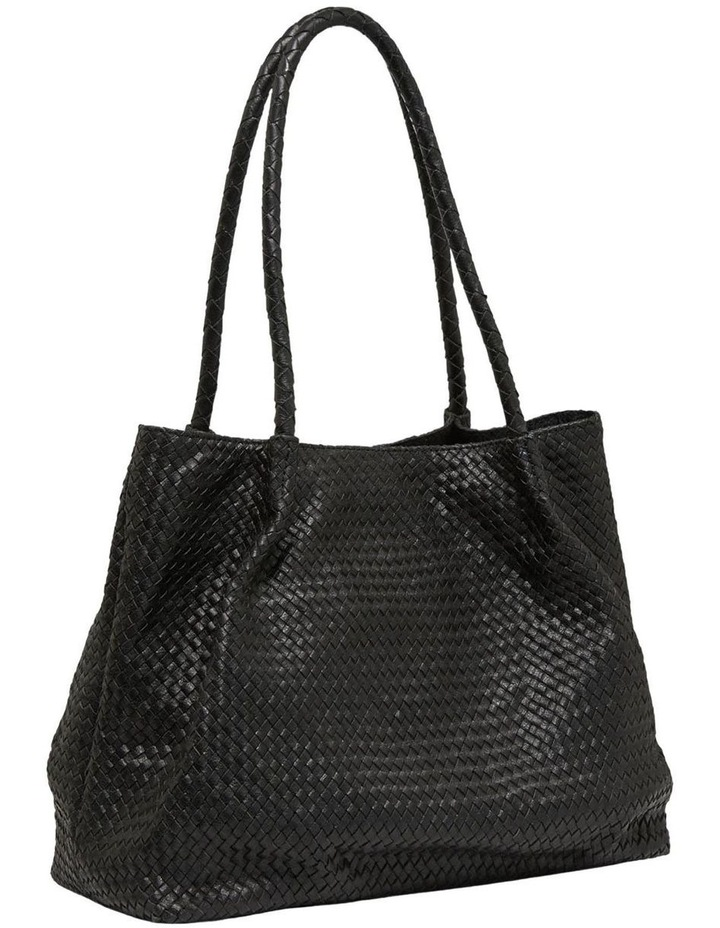 Sonnet Woven Leather Tote Bag image 1