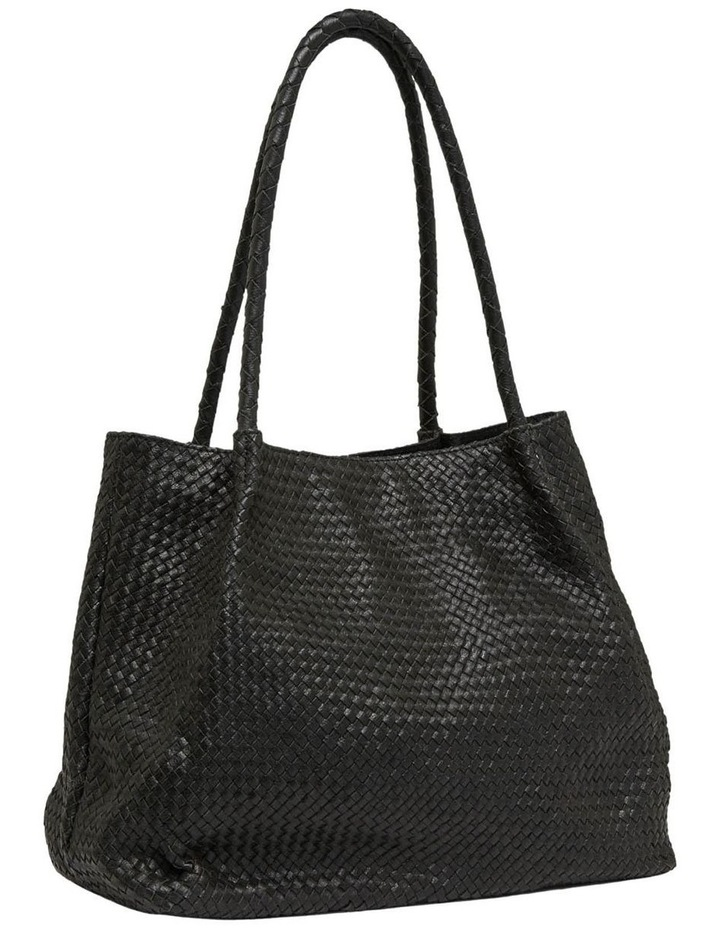 Sonnet Woven Leather Tote Bag image 2