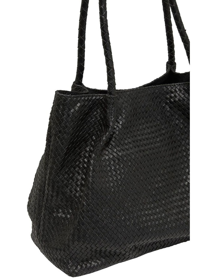 Sonnet Woven Leather Tote Bag image 3