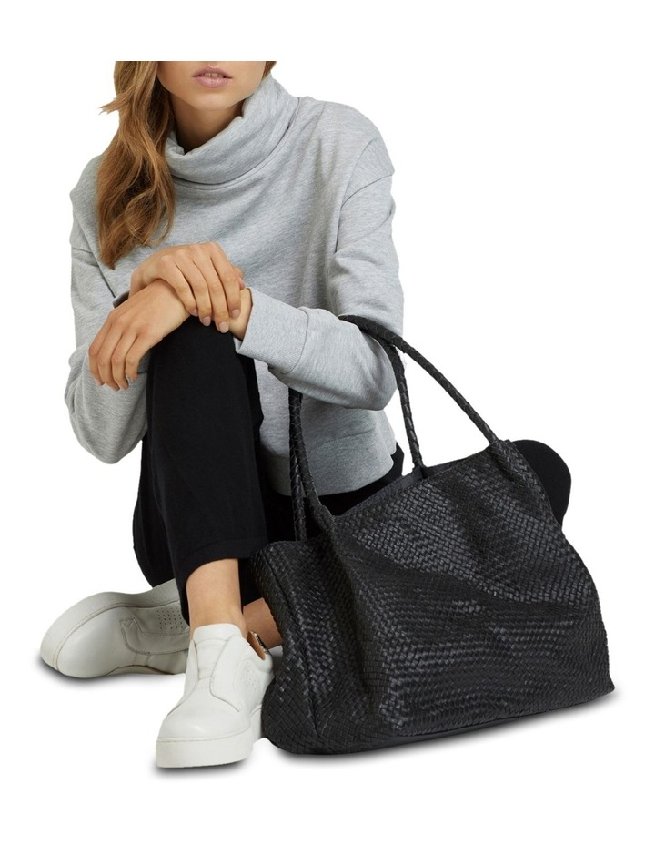 Sonnet Woven Leather Tote Bag image 6