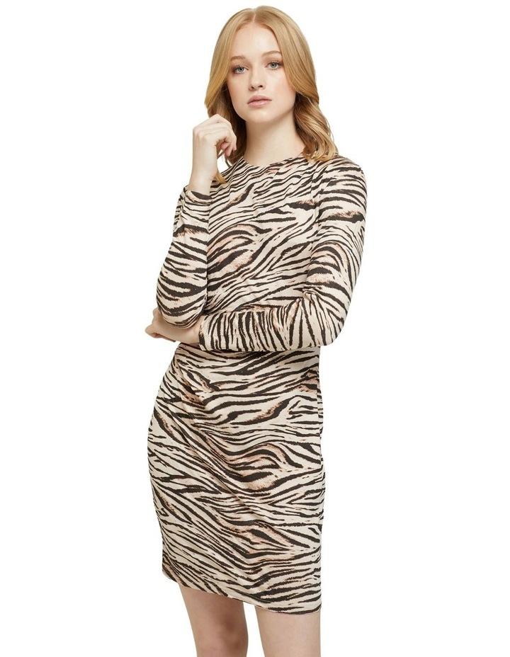 Amelia Animal Print Mini Dress image 1