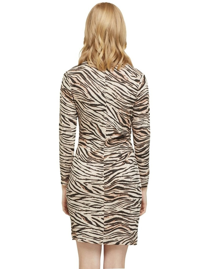 Amelia Animal Print Mini Dress image 3