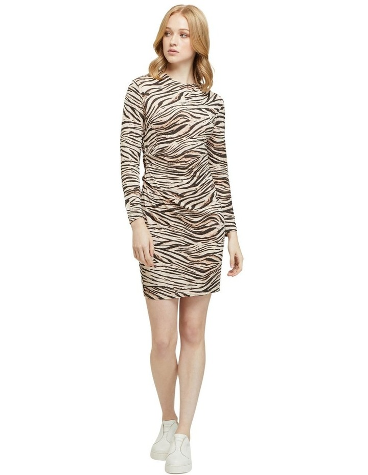 Amelia Animal Print Mini Dress image 7