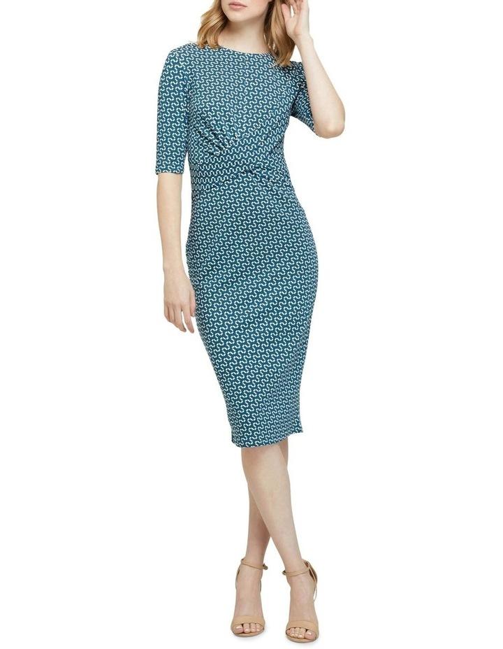Annie Geo Printed Knit Dress image 1
